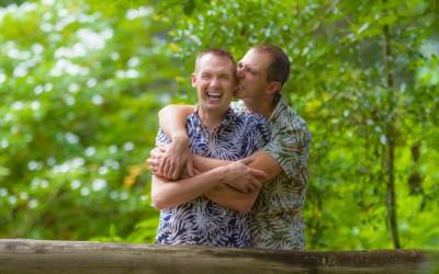 Orlando Gay Engagement