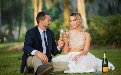 Kraft Azalea Gardens Engagement 2