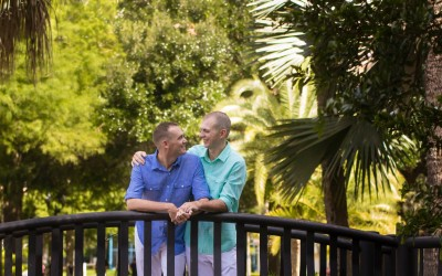 Lake Eola Orlando Florida Gay Wedding 4