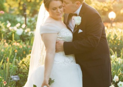 Missouri Botanical Gardens Wedding