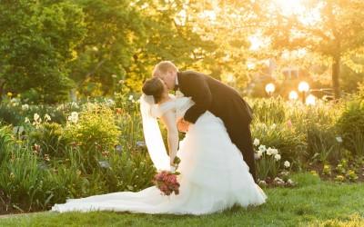 Missouri Botanical Gardens Wedding