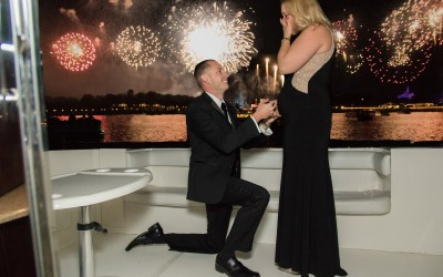Disney Fireworks Cruise Marriage Proposal 2