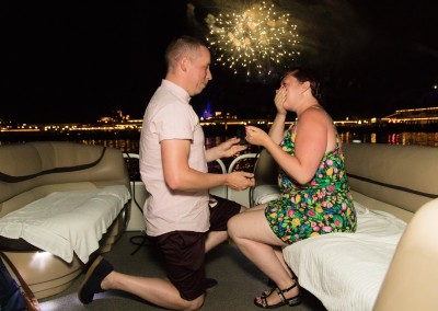 Disney Fireworks Cruise Marriage Proposal