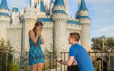 Disney Magic Kingdom Marriage Proposal 2