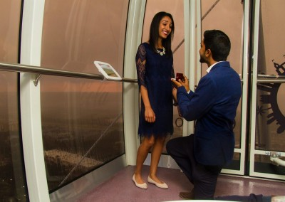 Orlando Eye Marriage Proposal Photographer