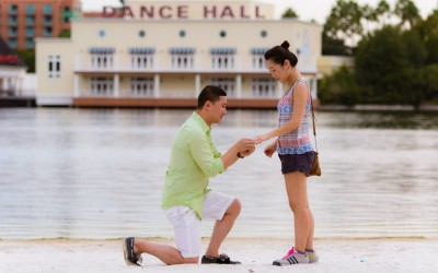 Orlando Surprise Marriage Proposal 2