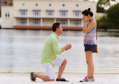 Orlando Surprise Marriage Proposal Photographer Disney