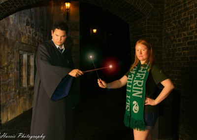 Orlando Surprise Proposal Photographer Wizarding World of Harry Potter