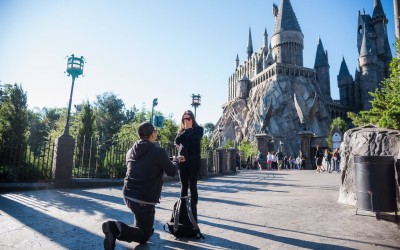 Wizarding World of Harry Potter Marriage Proposal