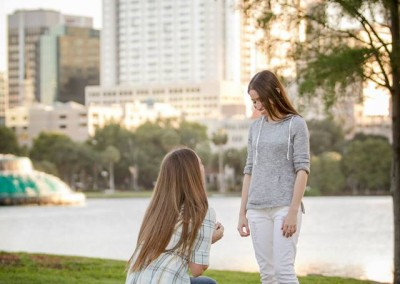 Lake Eola Surprise Proposal