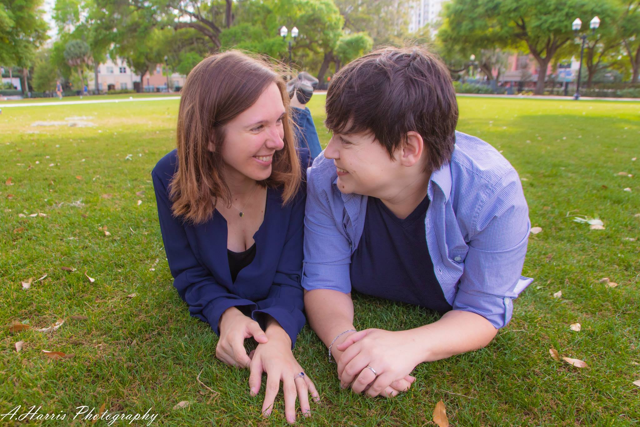 Lake Eola Orlando Engagement