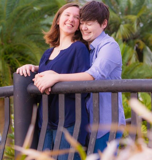Lake Eola Orlando Lesbian Engagement