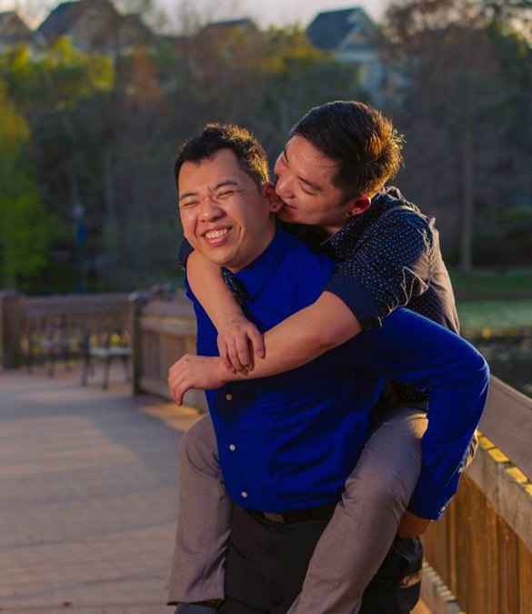 Maitland Florida Gay Engagement Session!