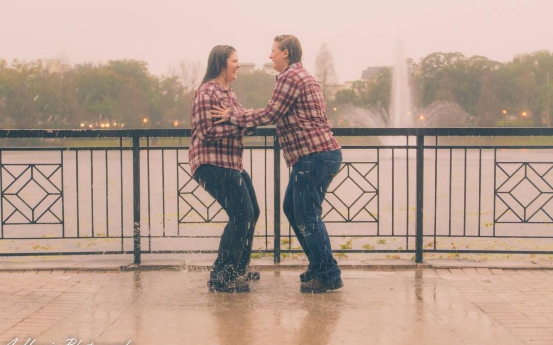 Maitland Florida Lake Lily Lesbian Engagement Huffpost