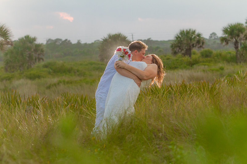 Washington Oaks State Park Palm Coast Florida Same Sex Wedding