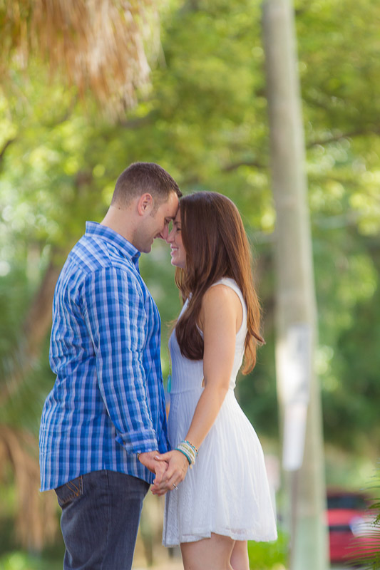 Winter Park Rose Garden Engagement