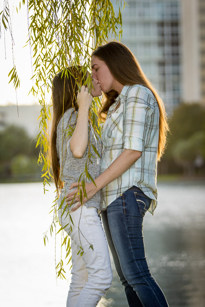 Orlando Same Sex Engagement Photographer