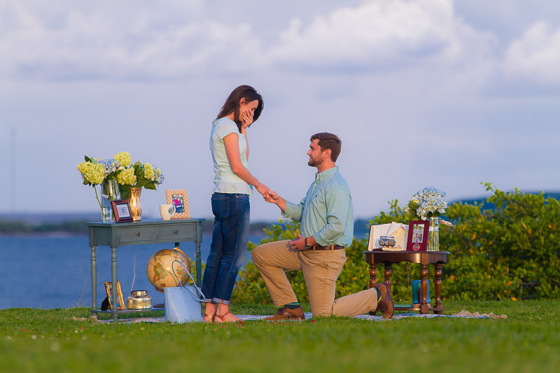 Orlando Surprise Proposal Photographer in Tampa
