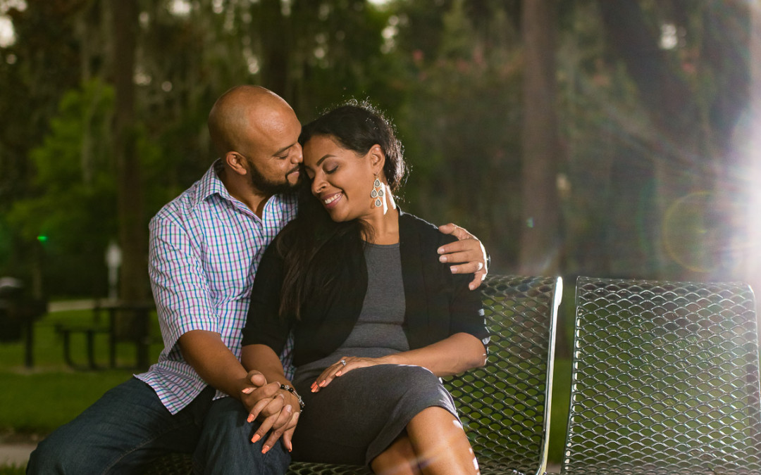 Cypress Grove Park Engagement | Orlando Engagement Photographer