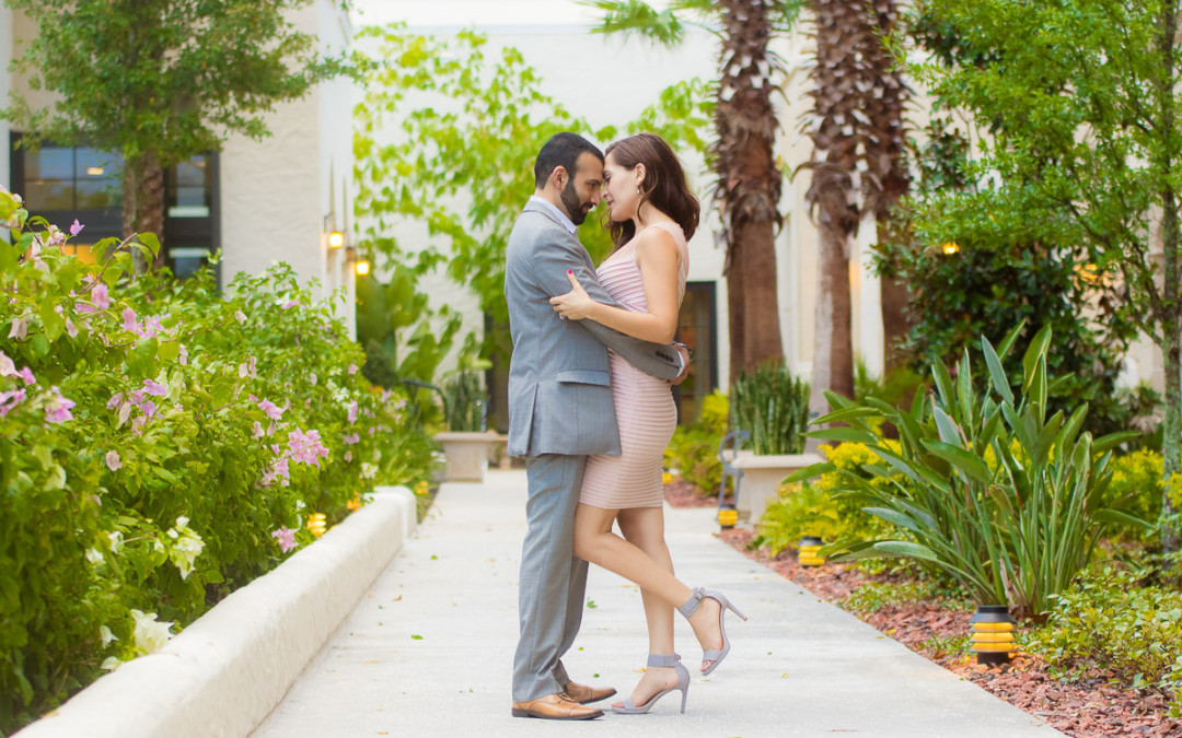 Orlando Proposal Photographer at Winter Park Alfond Inn