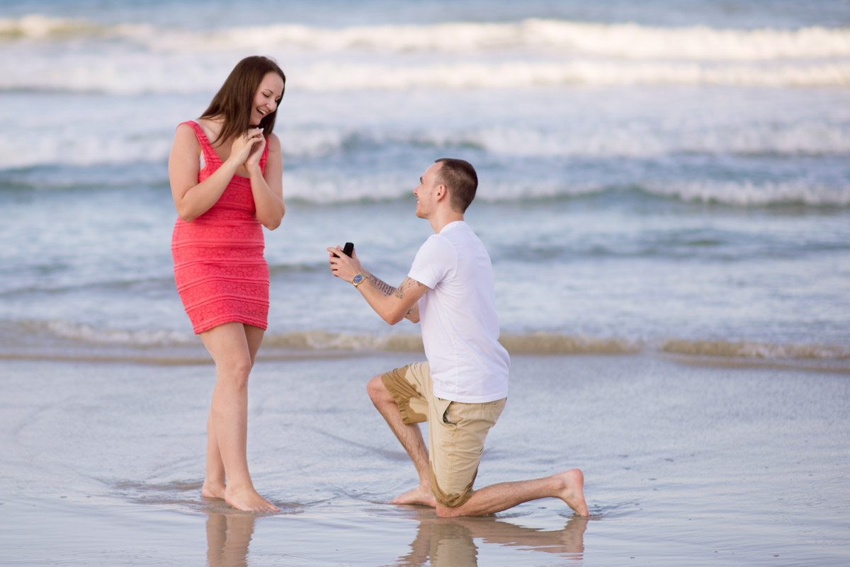 Daytona Beach marriage Proposal