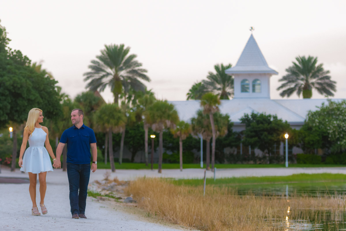 Disney Polynesian Resort Engagement Session
