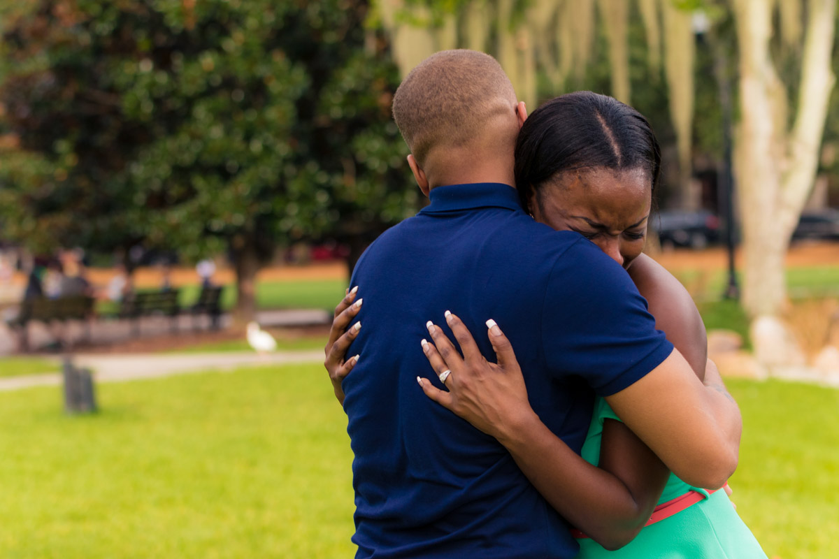 Lake Eola Marriage Proposal