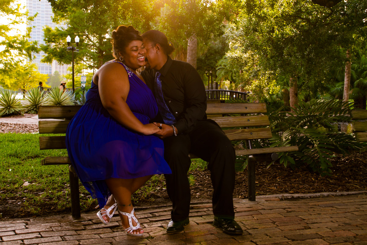 Lake Eola Engagement Session