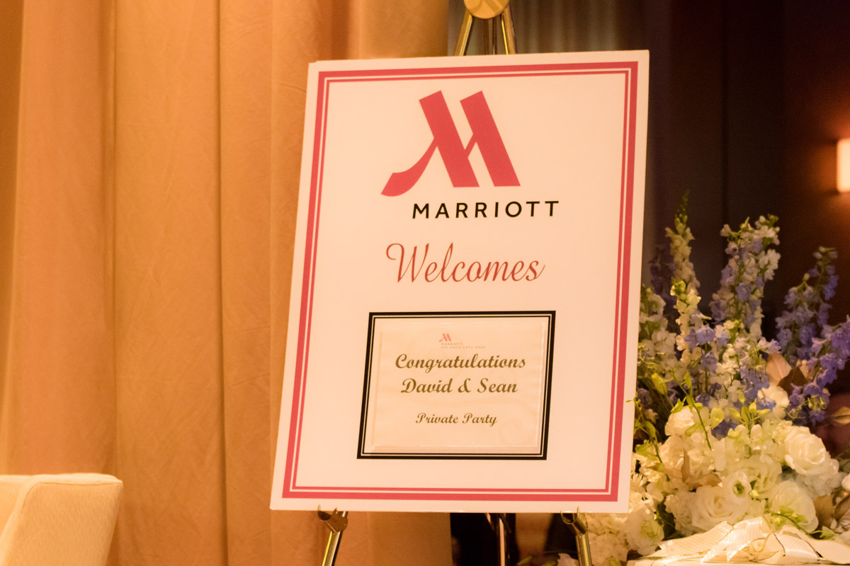 Orlando Marriott Lake Mary Wedding