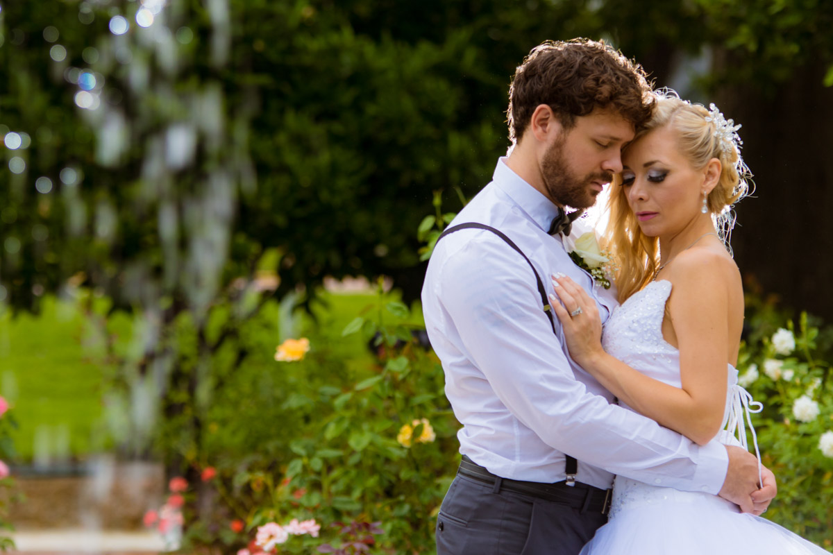 Winter Park Rose Garden Wedding