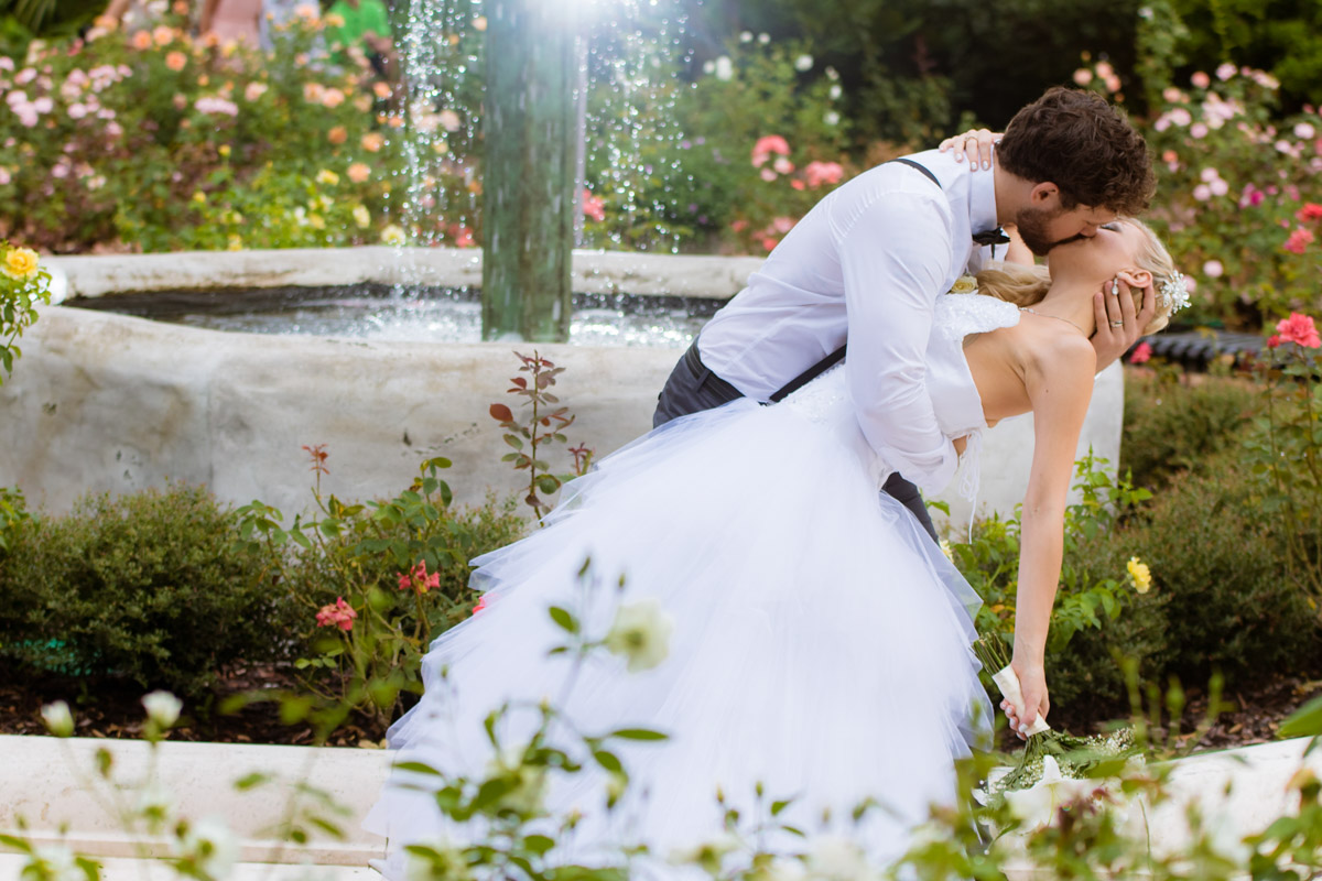Orlando Wedding Photographer Rose Garden Winter Park