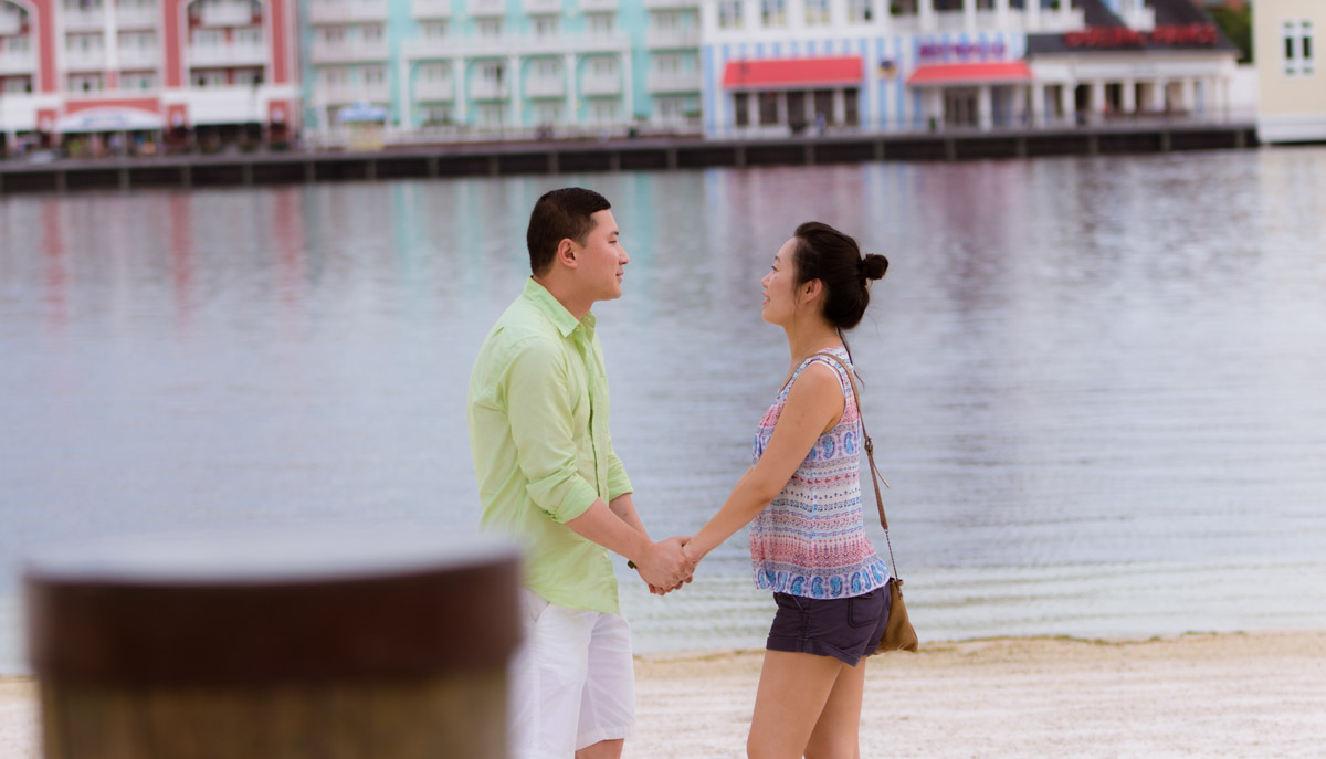 Disney Yacht and Beach Marriage Proposal