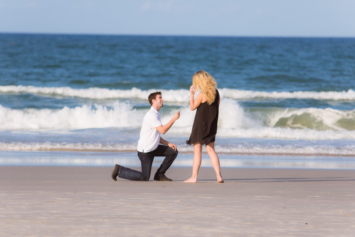 New Smyrna Beach Marriage Proposal
