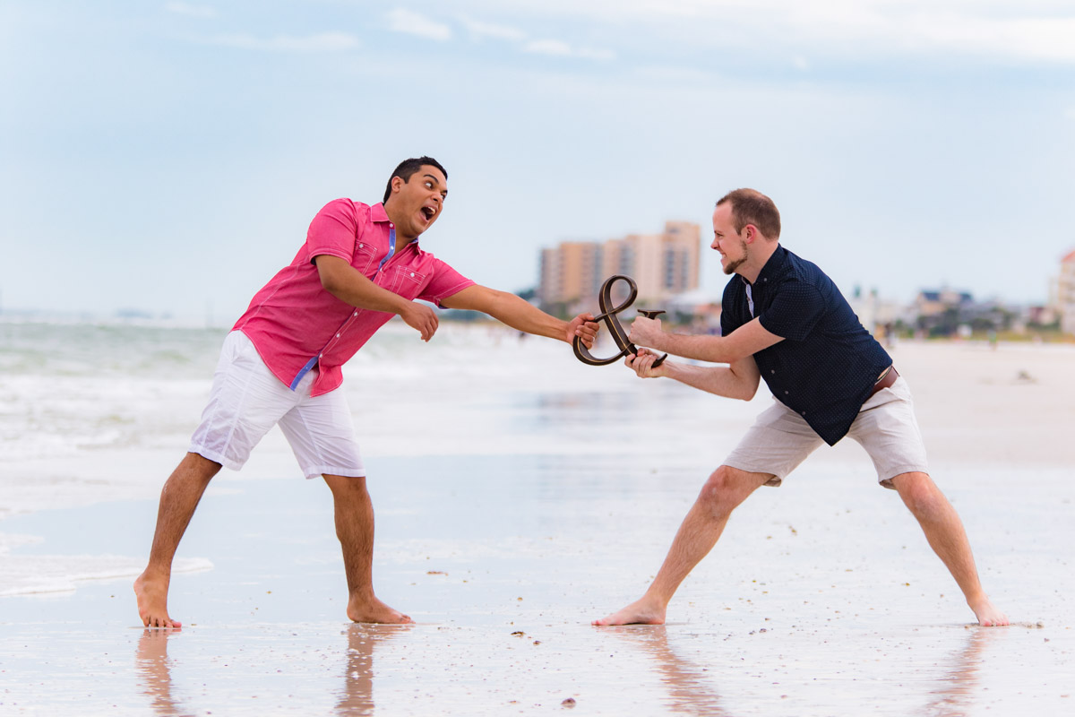 Clearwater Beach Engagement
