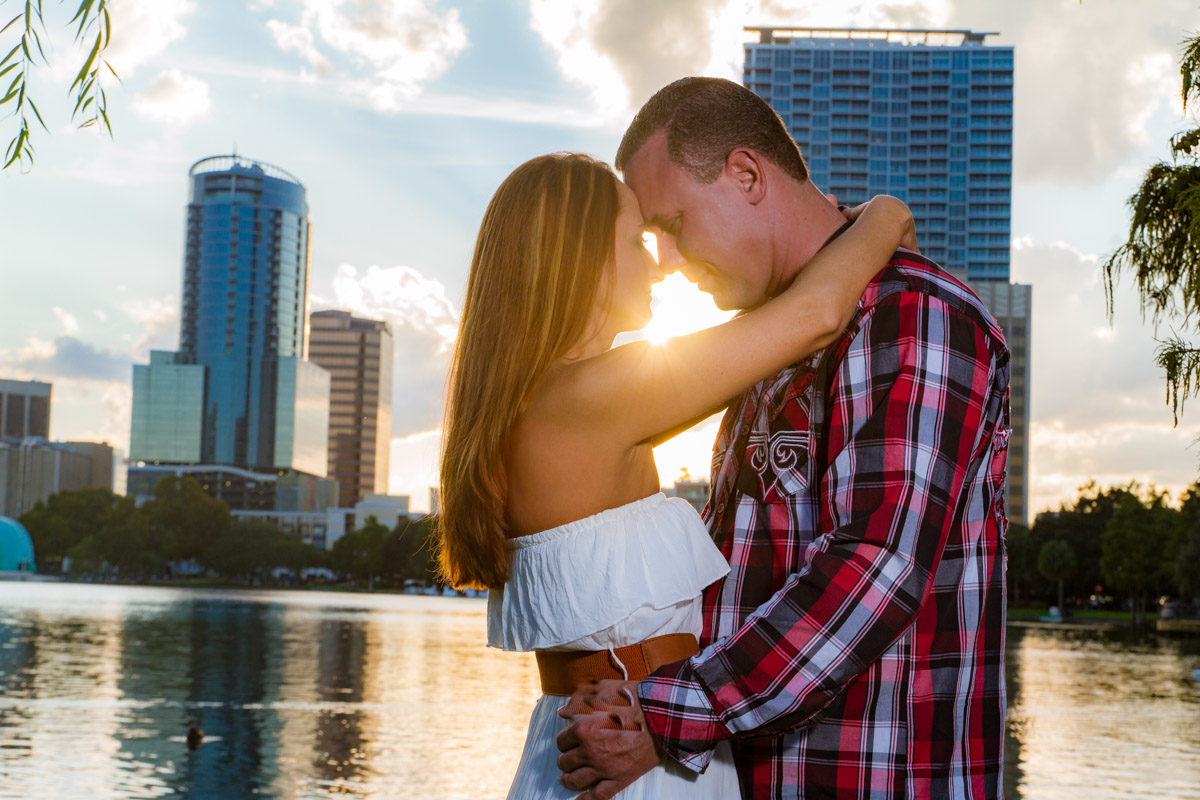 Lake Eola Engagement