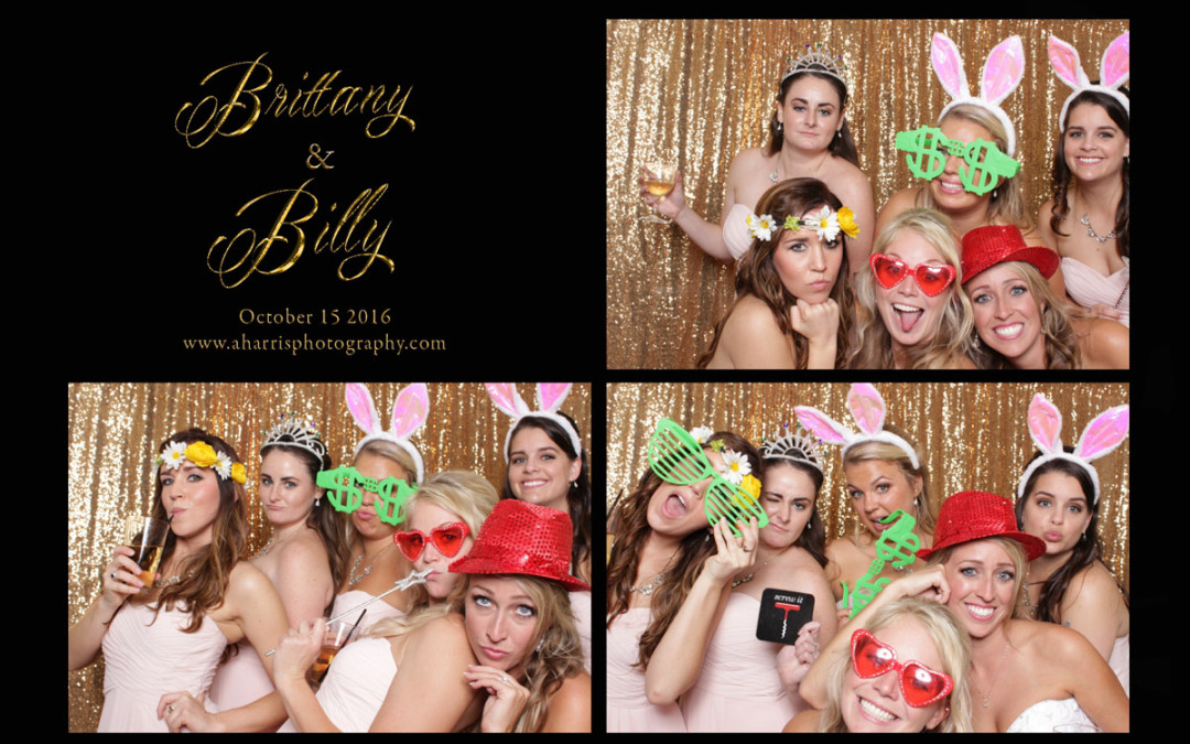 Orlando Photo Booth | Lake Mary Events Center | Billy and Brittany