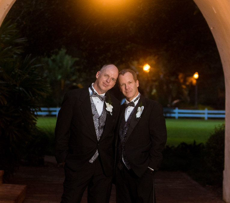Orlando Same Sex Wedding Photographer | Mark and Joey | Casa Feliz