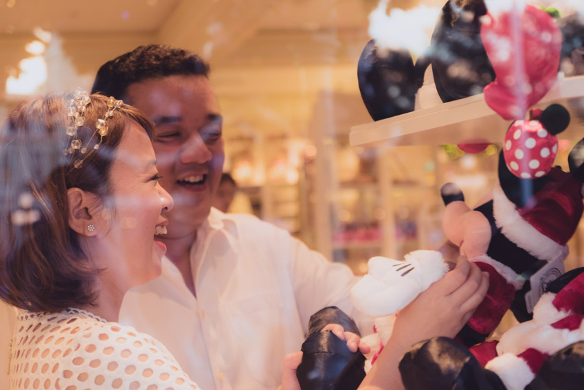 Disney Magic Kingdom Engagement