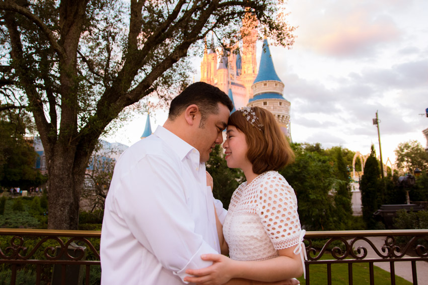 Disney Magic Kingdom Engagement | Orlando Engagement Photographer