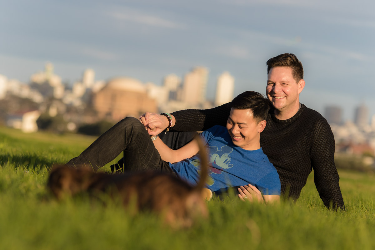 San Francisco Same Sex Engagement