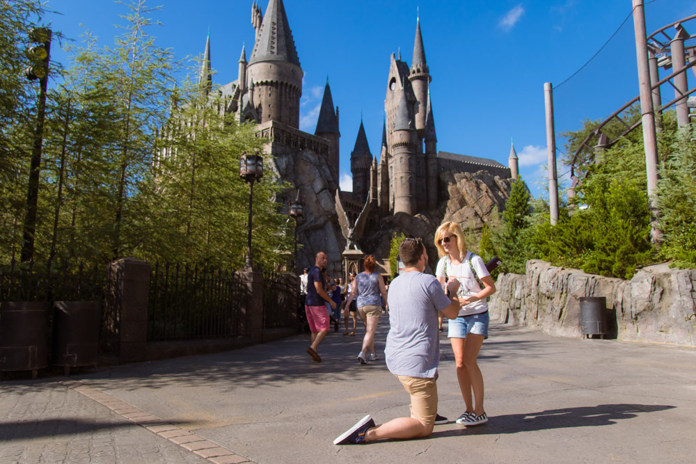 Harry Potter Proposal | Wizarding World of Harry Potter Proposal