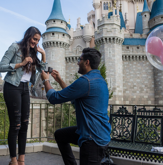 Magic Kingdom Proposal | Disney World Engagement