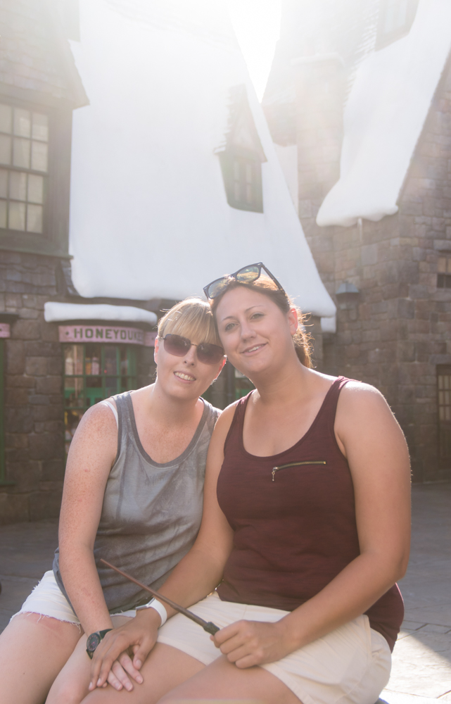 Universal Harry Potter Engagement