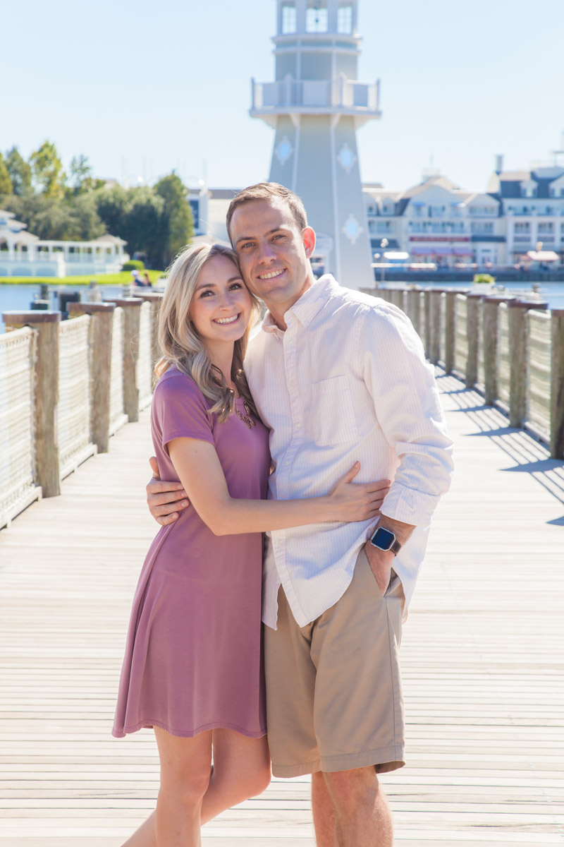 Disney Boardwalk Engagement