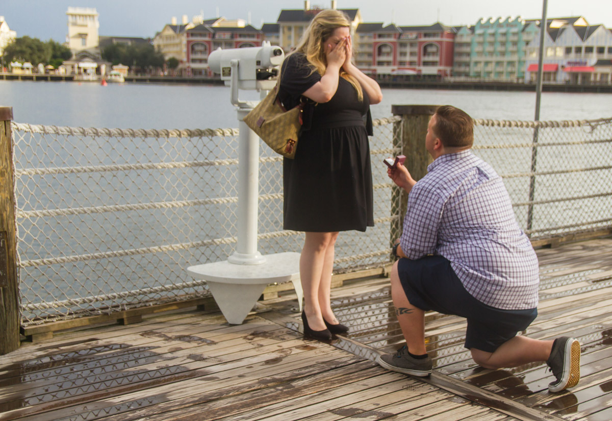 Disney Yacht Club Engagement