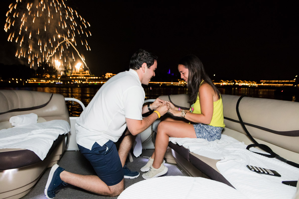 Magic Kingdom Fireworks Proposal