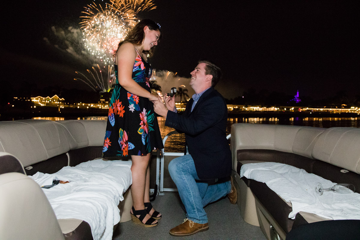 Disney Fireworks Cruise Proposal