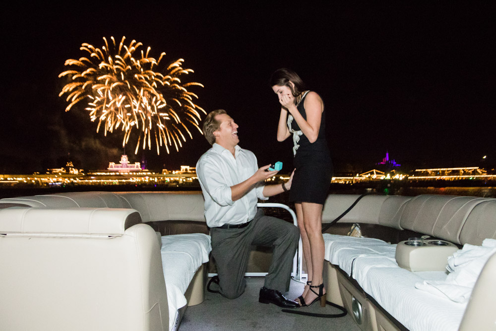 Disney Magic Kingdom Fireworks Proposal