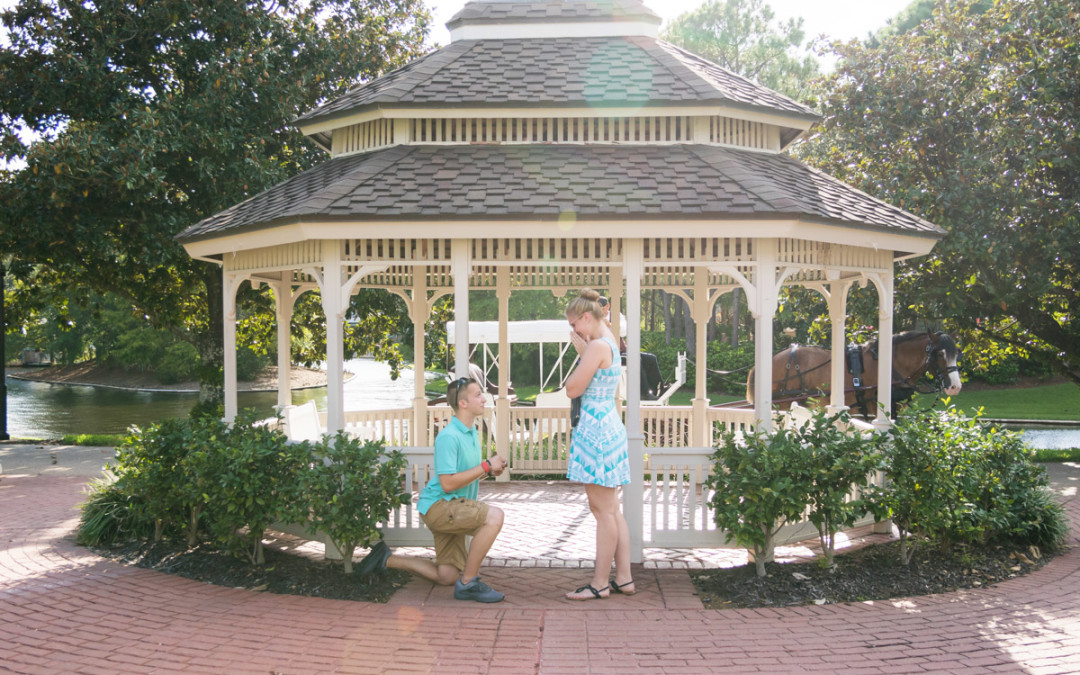 Disney Port Orleans Proposal | Orlando Proposal Photographer