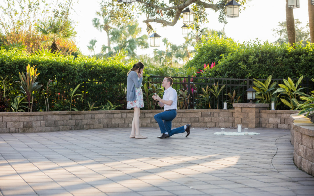 Hyatt Regency Grand Cypress Proposal | Orlando Proposal Photographer